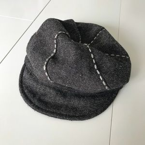 August Newsboy Hat with Stitching - One Size